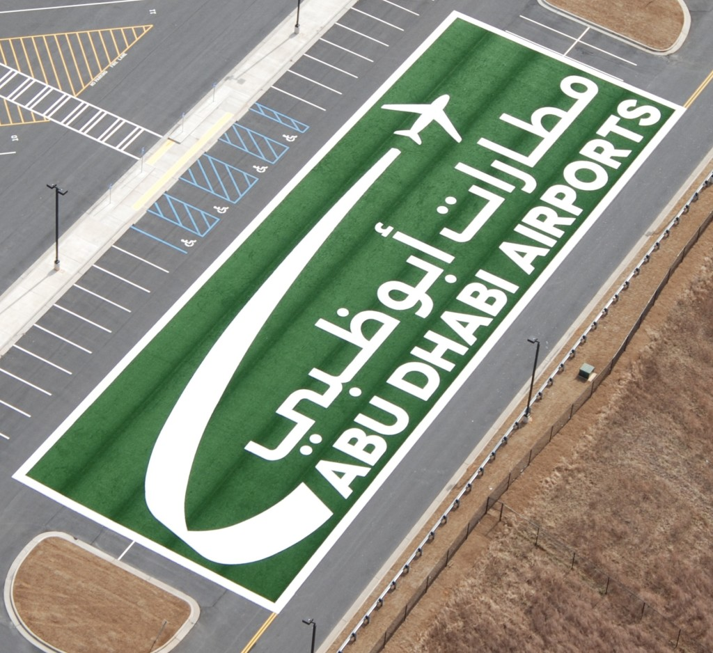 AUH, avturf, aviation turf, airport, airfield, artificial turf, abu dhabi airport, abu dhabi logo, travel auh, fly auh, synthetic turf