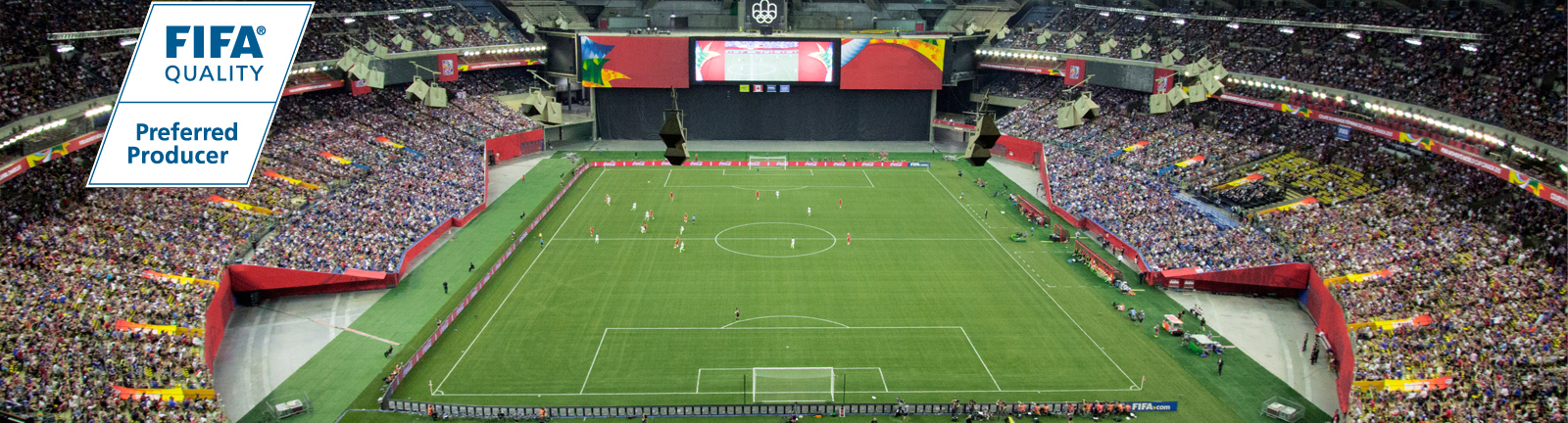 Xtreme Turf installed at Montreal Olympic Stadium for the Women's World Cup 2015