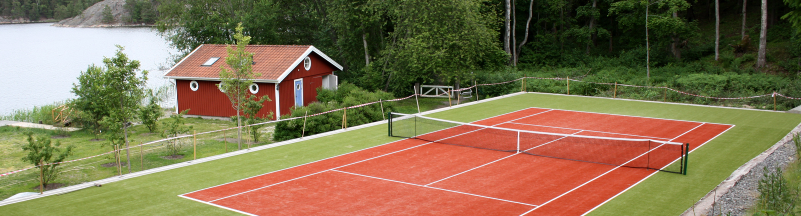 Act Global, synthetic turf manufacturer offers Xtreme Turf systems for tennis.