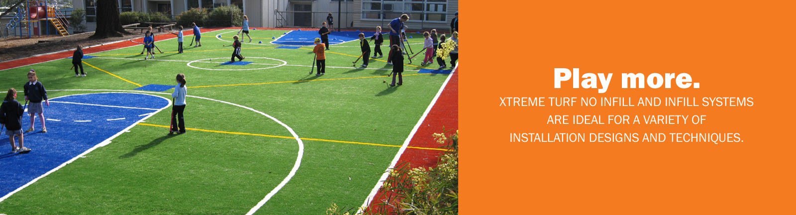 Xtreme Turf offers non-infilled systems ideal for tennis, indoor facilities and more.