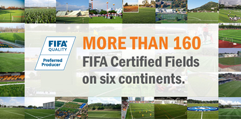 FIFA Recommended Systhetic Turf